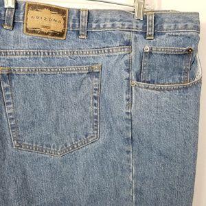 Arizona Jean's 52 x 30 Blue Relaxed Cotton